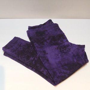 Tangerine Purple Leggings